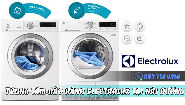 Bảo hành máy giặt Electrolux tại Hải Dương