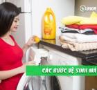 Tự vệ sinh máy giặt tại nhà