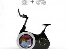 Máy giặt lai xe đạp