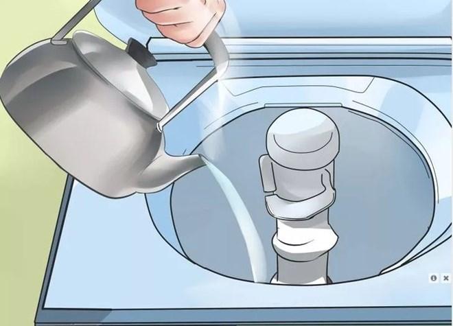Cách vệ sinh máy giặt vô cùng đơn giản