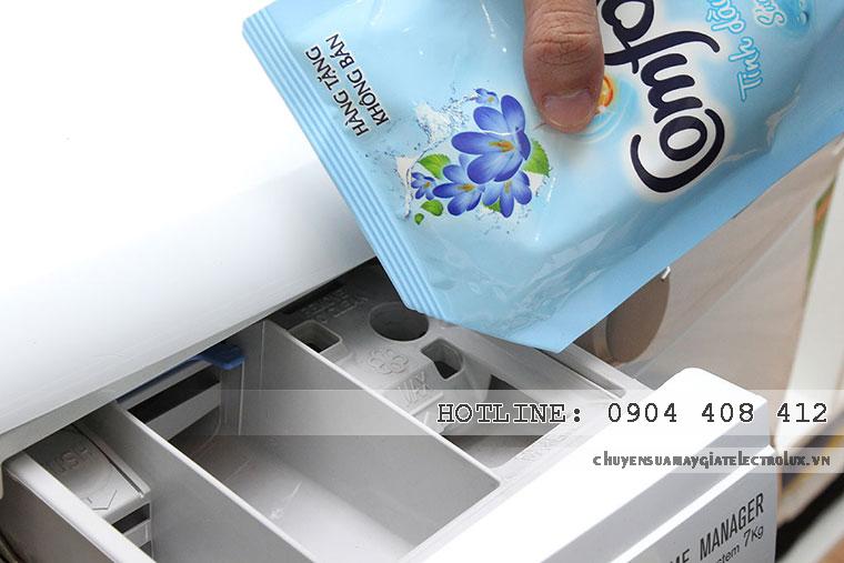 Mẹo sửa máy giặt Electrolux không xả nước xả vải