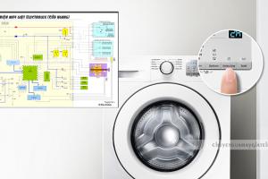Tìm hiểu sơ đồ mạch điện máy giặt Electrolux