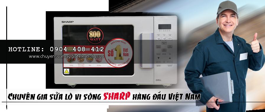 Sửa lò vi sóng Sharp tại Hà Nội