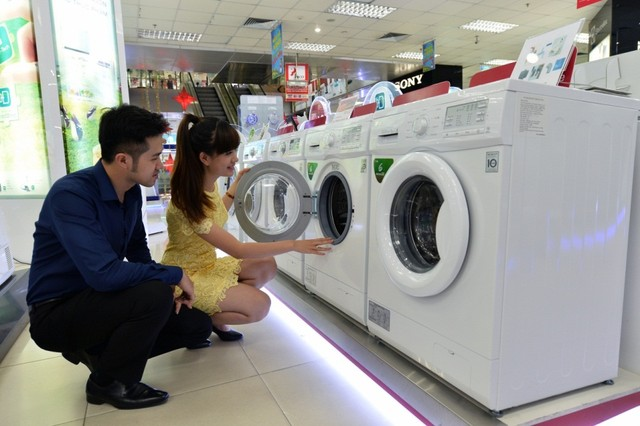 Siêu thị bán máy giặt Electrolux