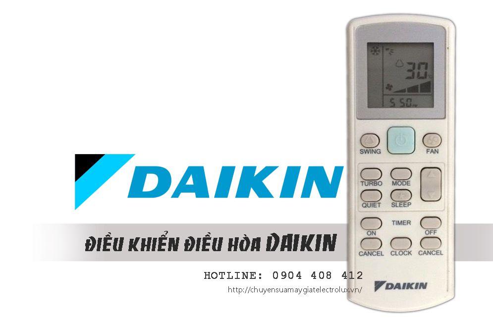 Điều khiển điều hòa Daikin chính hãng