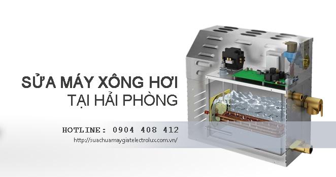 Sửa máy xông hơi tại Hải Phòng