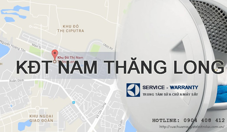 Sửa máy giặt Electrolux tại Nam Thăng Long