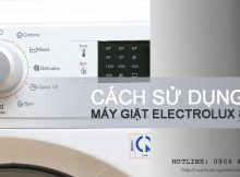 Hướng dẫn cách sử dụng máy giặt Electrolux 8kg