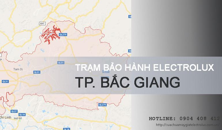 Bảo hành Electrolux tại Bắc Giang
