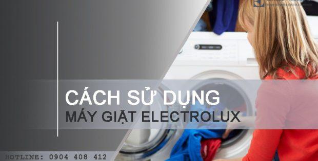 Hướng dẫn cách sử dụng máy giặt Electrolux 9kg